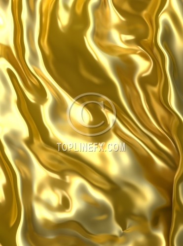 Abstract golden cloth background