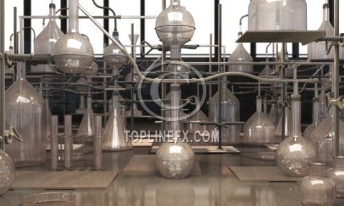 Alchemy laboratory