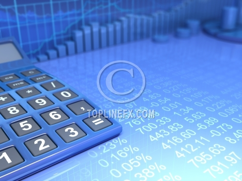 Financial Calculator Background