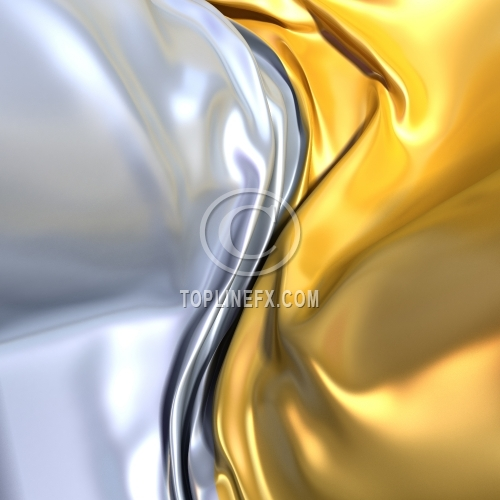 Gold and silver cloth background