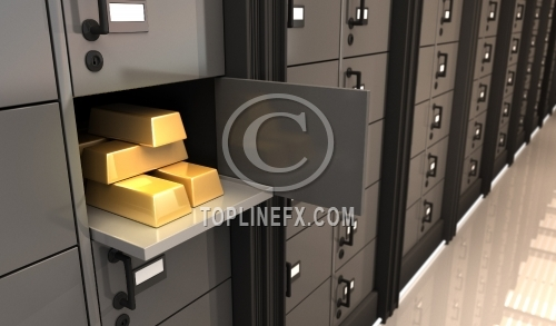 Gold in a Bank