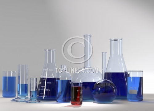 Laboratory Test Tubes In Science Research