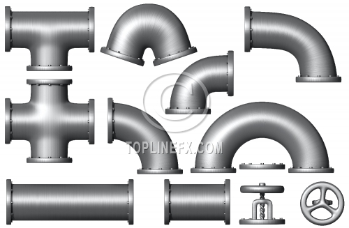Pipe elements