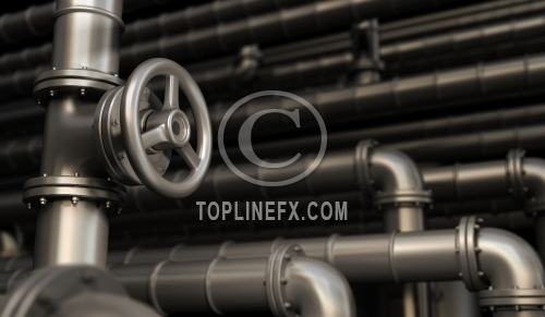 Pipes and Valves Background