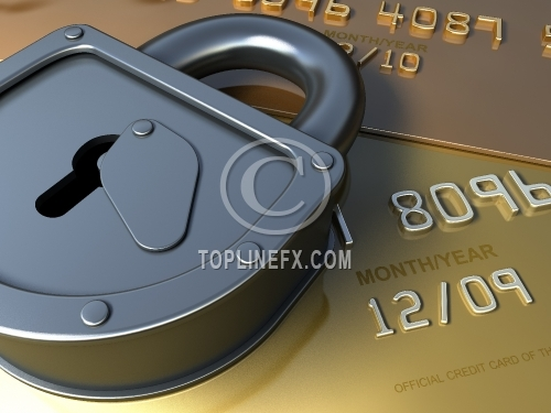 Secure bank card